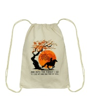 And Into The Forest I Go Drawstring Bag tile