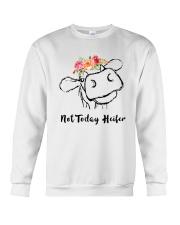 Not Today Heifer Crewneck Sweatshirt thumbnail
