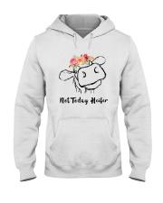 Not Today Heifer Hooded Sweatshirt thumbnail