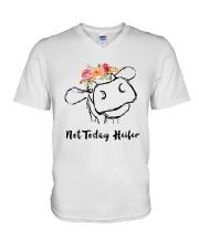 Not Today Heifer V-Neck T-Shirt thumbnail