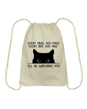 I'll Be Watching You Drawstring Bag thumbnail