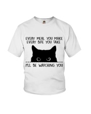 I'll Be Watching You Youth T-Shirt thumbnail