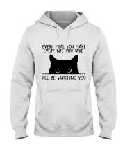 I'll Be Watching You Hooded Sweatshirt thumbnail