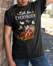 Cats For Everybody Classic T-Shirt apparel-classic-tshirt-lifestyle-27