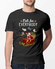 Cats For Everybody Classic T-Shirt lifestyle-mens-crewneck-front-13