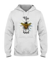 Bee Kind Hooded Sweatshirt front