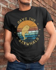 Save The Narwhals Classic T-Shirt apparel-classic-tshirt-lifestyle-26