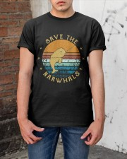 Save The Narwhals Classic T-Shirt apparel-classic-tshirt-lifestyle-31