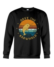 Save The Narwhals Crewneck Sweatshirt thumbnail
