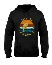 Save The Narwhals Hooded Sweatshirt thumbnail