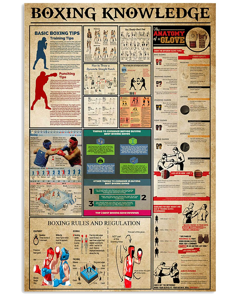 Boxing Knowledge 11x17 Poster