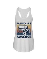 Mind If I Smoke Ladies Flowy Tank thumbnail