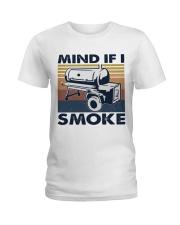 Mind If I Smoke Ladies T-Shirt thumbnail