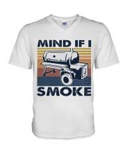 Mind If I Smoke V-Neck T-Shirt thumbnail