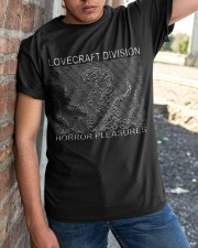 Love Craft Division Classic T-Shirt apparel-classic-tshirt-lifestyle-27