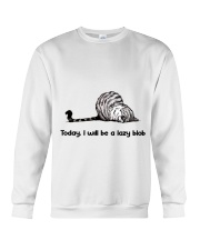 I Will Be A Lazy Blob Crewneck Sweatshirt thumbnail