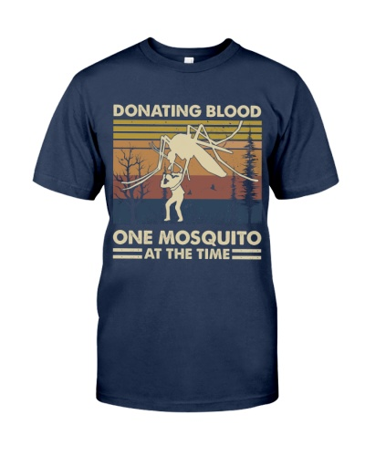Donating Blood On Mosquito