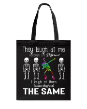 Because I'm Different Tote Bag thumbnail