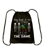 Because I'm Different Drawstring Bag thumbnail