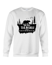 And Into The Forest I Go 1 Crewneck Sweatshirt thumbnail