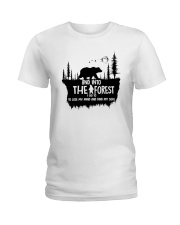 And Into The Forest I Go 1 Ladies T-Shirt thumbnail