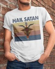 Hail Satan Classic T-Shirt apparel-classic-tshirt-lifestyle-26