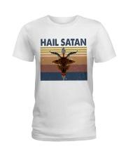 Hail Satan Ladies T-Shirt thumbnail