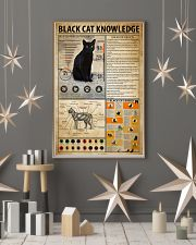 Black Cat Knowledge 11x17 Poster lifestyle-holiday-poster-1