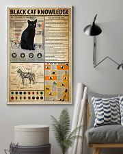 Black Cat Knowledge 11x17 Poster lifestyle-poster-1