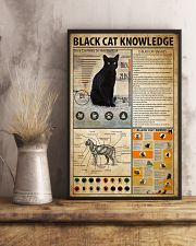 Black Cat Knowledge 11x17 Poster lifestyle-poster-3