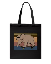 Polar Bear Funny Tote Bag tile
