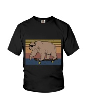 Polar Bear Funny Youth T-Shirt thumbnail
