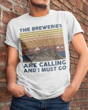 The Breweries Are Calling Classic T-Shirt apparel-classic-tshirt-lifestyle-26