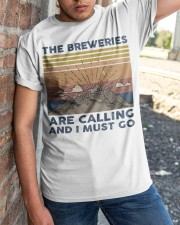 The Breweries Are Calling Classic T-Shirt apparel-classic-tshirt-lifestyle-27