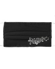 Love Music Cloth face mask front
