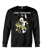 Easily Distracted Crewneck Sweatshirt thumbnail