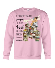 I Just Feel Better Crewneck Sweatshirt thumbnail