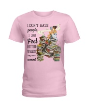 I Just Feel Better Ladies T-Shirt thumbnail