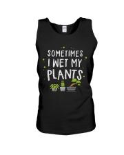 I Wet My Plants Unisex Tank thumbnail