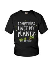 I Wet My Plants Youth T-Shirt thumbnail
