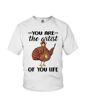 You Are The Artist Of You Life Youth T-Shirt thumbnail
