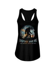 Bigfoot Saw Me Ladies Flowy Tank thumbnail
