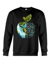 Can Be Anything Be A Teacher Crewneck Sweatshirt thumbnail