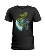 Can Be Anything Be A Teacher Ladies T-Shirt thumbnail