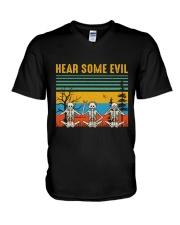 Hear Some Evil V-Neck T-Shirt thumbnail