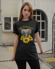 Be Strong Classic T-Shirt apparel-classic-tshirt-lifestyle-19