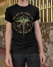 And Into The Forest I Go Classic T-Shirt apparel-classic-tshirt-lifestyle-21