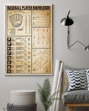 Baseball Player Knowledge 11x17 Poster lifestyle-poster-1