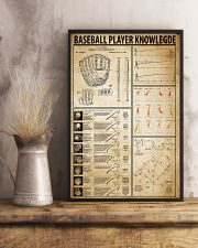 Baseball Player Knowledge 11x17 Poster lifestyle-poster-3