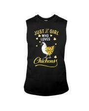 Just A Girl Who Loves Chickens Sleeveless Tee thumbnail